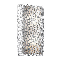 Kichler Silver Coral 2 Light Outdoor Wall in Platinum 49549PL
