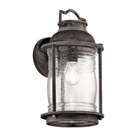 Kichler Ashland Bay 1 Light Large Outdoor Wall in Weathered Zinc 49571WZC
