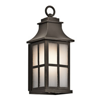 Kichler Pallerton Way 1 Light Small Outdoor Wall in Olde Bronze 49579OZ