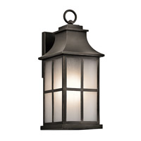 Kichler 49580OZ Pallerton Way 1 Light 18 inch Olde Bronze Medium Outdoor Wall