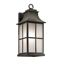 Kichler Pallerton Way 1 Light Large Outdoor Wall in Olde Bronze 49581OZ