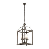 Larkin 4 Light 18 inch Olde Bronze Outdoor Chandelier