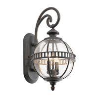Kichler 49600LD Halleron 2 Light 19 inch Londonderry Xlarge Outdoor Wall