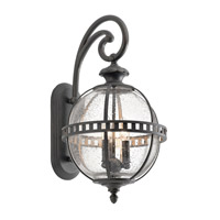 Halleron 3 Light 23 inch Londonderry Xlarge Outdoor Wall