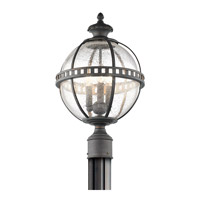 Kichler 49604LD Halleron 3 Light 20 inch Londonderry Outdoor Post Lantern