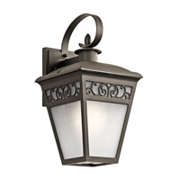Kichler 49612OZ Park Row 1 Light 14 inch Olde Bronze Outdoor Wall Lantern