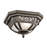 Kichler Park Row 1 Light Outdoor Hanging Pendant in Olde Bronze 49615OZ