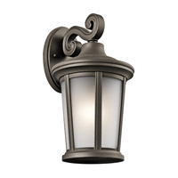 Turlee 1 Light 14 inch Olde Bronze Outdoor Wall Mount