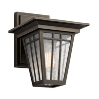 Woodhollow Lane 1 Light 12 inch Olde Bronze Outdoor Wall Mount