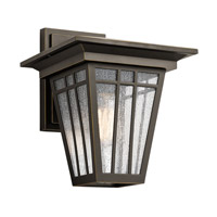 Woodhollow Lane 1 Light 13 inch Olde Bronze Outdoor Wall Mount