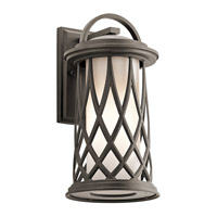 Pebble Lane 1 Light 16 inch Olde Bronze Outdoor Wall Mount