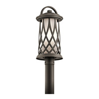 Pebble Lane 1 Light 21 inch Olde Bronze Post Lantern