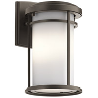 Kichler 49686OZ Toman 1 Light 10 inch Olde Bronze Outdoor Wall Light in Standard