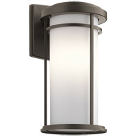 Kichler 49688OZL16 Toman 1 Light 20 inch Olde Bronze Outdoor Wall Light in LED, Dimmable