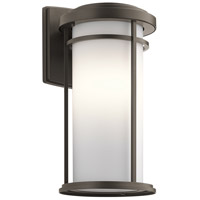 Kichler 49688OZ Toman 1 Light 20 inch Olde Bronze Outdoor Wall Sconce in Incandescent Xlarge