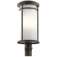 Kichler 49690OZL18 Toman LED 22 inch Olde Bronze Post Mount