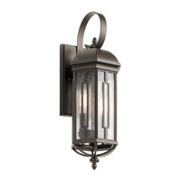 Kichler 49709OZ Galemore 2 Light 18 inch Olde Bronze Outdoor Wall Mount