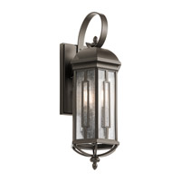 Kichler 49710OZ Galemore 3 Light 22 inch Olde Bronze Outdoor Wall Mount
