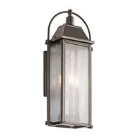 Kichler 49715OZ Harbor Row 3 Light 23 inch Olde Bronze Outdoor Wall Mount