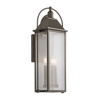 Kichler Harbor Row 4 Light Outdoor Wall Mount in Olde Bronze 49716OZ