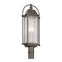 Kichler 49717OZ Harbor Row 4 Light 27 inch Olde Bronze Post Lantern