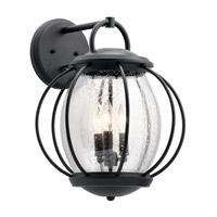 Kichler 49729BKT Vandalia 3 Light 18 inch Textured Black Outdoor Wall Light X-Large