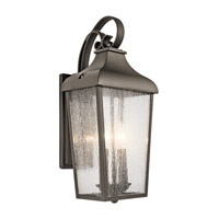 Forestdale 2 Light 19 inch Olde Bronze Outdoor Wall Light