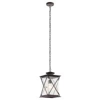 Kichler 49747WZCL18 Argyle LED 10 inch Weathered Zinc Pendant Ceiling Light