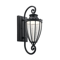 Kichler 49753BKTLED Wakefield LED 30 inch Textured Black Outdoor Wall Light, Large