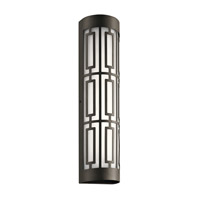 Kichler 49779OZLED Empire LED 20 inch Olde Bronze Outdoor Wall Light, Medium
