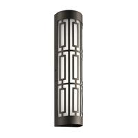 Kichler 49779OZLED Empire LED 20 inch Olde Bronze Outdoor Wall Light Medium