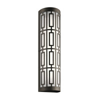 Kichler 49780OZLED Empire LED 22 inch Olde Bronze Outdoor Wall Light, Large