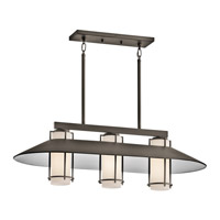 Kichler Lighting Tavistock 3 Light Outdoor Chandelier in Olde Bronze 49811OZ photo thumbnail