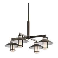 Kichler Lighting Tavistock 4 Light Outdoor Chandelier in Olde Bronze 49812OZ photo thumbnail