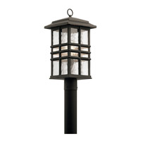 Kichler 49832OZ Beacon Square 1 Light 21 inch Olde Bronze Outdoor Post Lantern