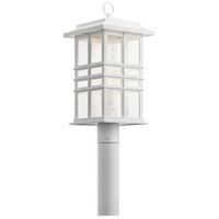 Kichler 49832WH Beacon Square 1 Light 21 inch White Outdoor Post Lantern
