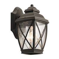 Kichler 49840OZ Tangier 1 Light 10 inch Olde Bronze Outdoor Wall Light, Small