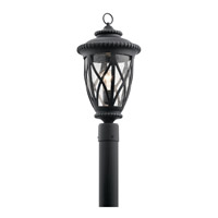Kichler 49849BKT Admirals Cove 1 Light 21 inch Textured Black Outdoor Post Lantern