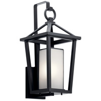 Kichler 49877BK Pai 1 Light 22 inch Black Outdoor Wall Light