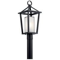 Kichler 49880BK Pai 1 Light 22 inch Black Outdoor Post Mount