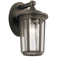 Kichler 49892OZ Fairfield 1 Light 11 inch Olde Bronze Outdoor Wall Light, Small