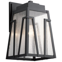 Kichler 49902BKT Koblenz 1 Light 17 inch Textured Black Outdoor Wall Sconce, Xlarge thumb
