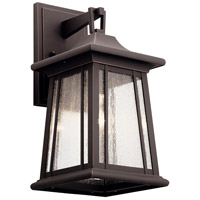 Kichler 49909RZ Taden 1 Light 17 inch Rubbed Bronze Outdoor Wall Light