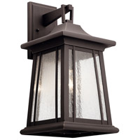 Kichler 49910RZ Taden 1 Light 21 inch Rubbed Bronze Outdoor Wall Light