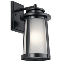 Harbor Bay 1 Light 16 inch Black Outdoor Wall Light, Medium