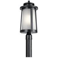 Kichler 49920BK Harbor Bay 1 Light 21 inch Black Outdoor Post Lantern