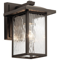 Kichler 49924OZ Capanna 1 Light 10 inch Olde Bronze Outdoor Wall Light
