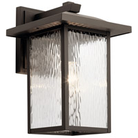 Kichler 49926OZ Capanna 1 Light 16 inch Olde Bronze Outdoor Wall Light