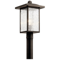 Kichler 49927OZ Capanna 1 Light 18 inch Olde Bronze Outdoor Post Mount