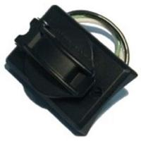 Kichler 49952BK Independence 120V 3 inch Black Grounded Convenience Outlet